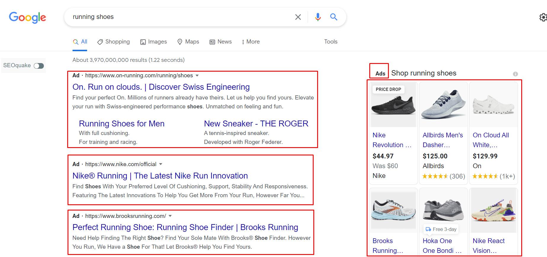 Google Advertising via Ads